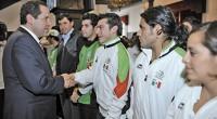 Después del buen desempeño que realizaron jóvenes deportistas del Estado de México en los Juegos Panamericanos Guadalajara 2011, realizados el mes pasado, el gobernador de la entidad, Eruviel Ávila Villegas, […]